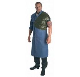 Protector de hombro con ajuste al brazo en caucho.