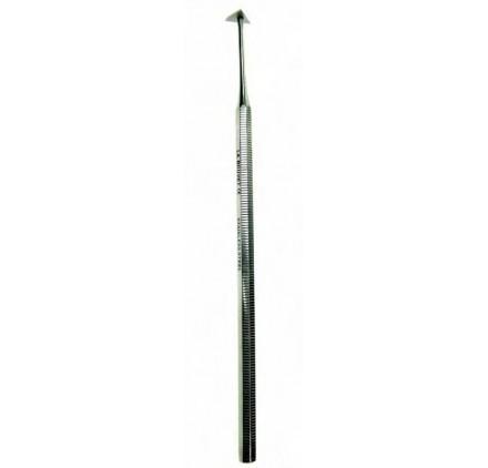 Raspador de sarro, 15.5cm.