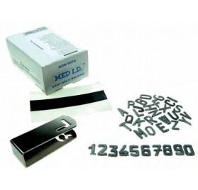 Numeración de Pb, 12mm.