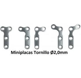 Miniplacas Tornillo Ø2,0mm